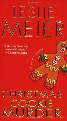 Christmas Cookie Murder (Lucy Stone Mysteries) by Meier, Leslie Book The Cheap