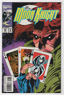 Marc Spector: Moon Knight #53 (Aug 1993) [Gambit, Werewolf by Night] Fry p
