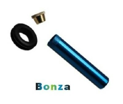 8cm Bonza Stem Kit with Grommet and Cone Piece Various Colours Bong Waterpipe