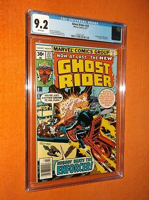 GHOST RIDER #22 CGC 9.2 {Enforcer 1st app.} {Jack Kirby cover} - Sharp copy!!!