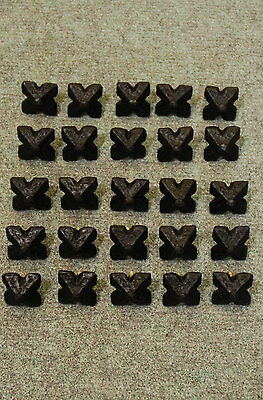 Lot of 25 Bronze Alloy Door or Gate Clavos (Nails)