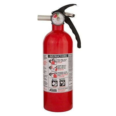 Kidde 5B:C Rated Disposable Fire Extinguisher Red Prevention Kitchen Spray Foam