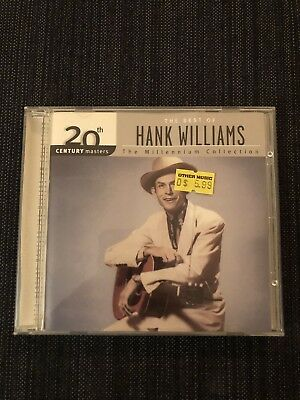 Hank Williams Best Of Collection CD Countrt Folk