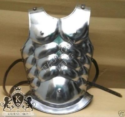 Collectible knight Medieval Roman Greek Muscle Body-Armor Steel LARP Chest Plate