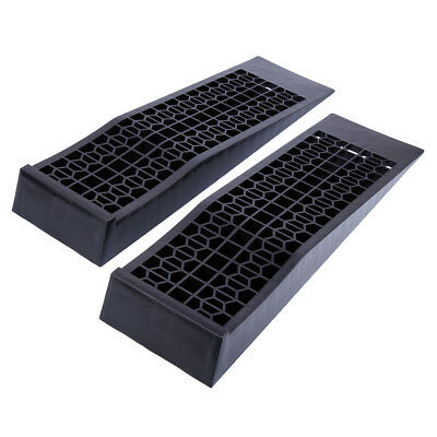 5000kg Low Profile High Quality Car Ramps Pair 70cm Long Antiskid Service Ramp