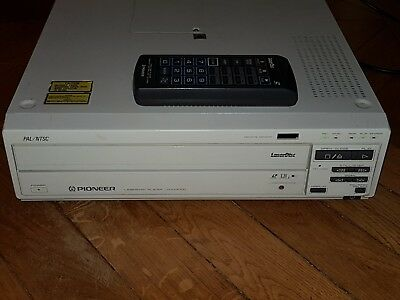 Pioneer LD 4300D High End LASERDISC Broadcast Industrial PLAYER PAL/NTSC Dragon.