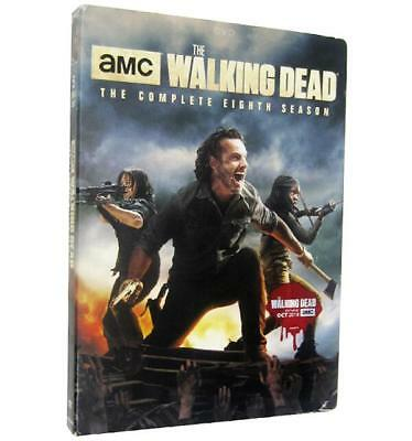 The Walking Dead: The Complete Eighth Season (DVD, 5-Disc 2018) New Sealed
