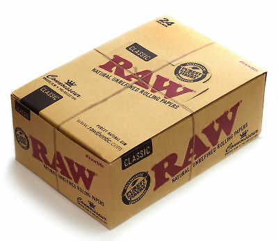 Authentic Raw Classic Connoisseur King Size Slim With Tips + Raw Roller 110 MM
