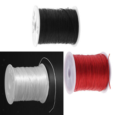 50 Meter Elastic Stretch String Cord for Jewelry Making Beading Thread 0.5mm