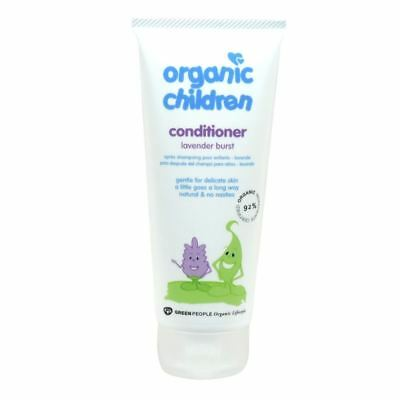 Green People Childrens Lavender Conditioner - Organic 200ml x 10 Pack