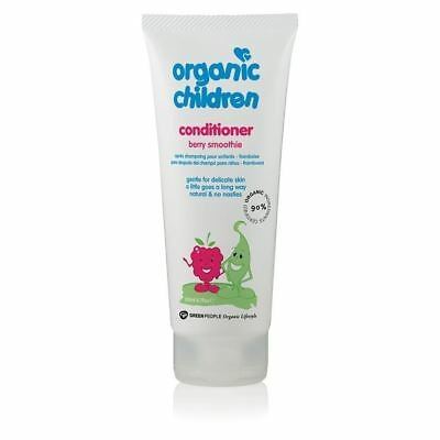 Green People Childs Berry Smoothie Conditioner - Organic 200ml x 10 Pack