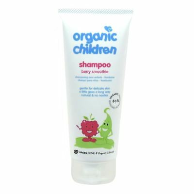 Green People Childs Berry Smoothie Shampoo - Organic 200ml x 10 Pack