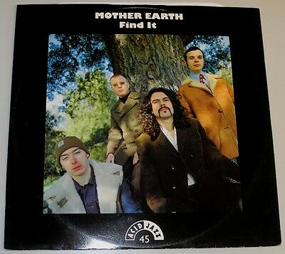 "12"" Uk**mother Earth - Find It (Acid Jazz '93)***9223"