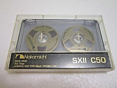 1 Unique Souvenir Reel to Reel handmade customized cassette tape Nakamichi SXII