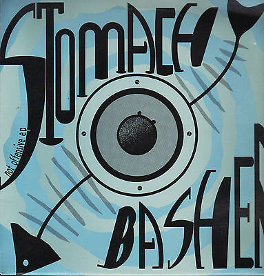 """12"""" Nl Hardcore**stomach Basher - Not Offensive Ep (Rotterdam Rec. '92)***5298"""