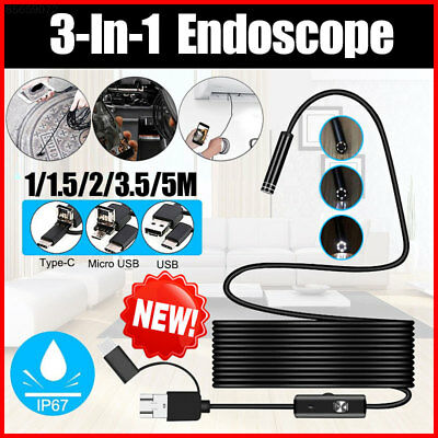 A894 Ear Cleaning Tool Mobile Phones Inspection Camera Handheld Endoscope