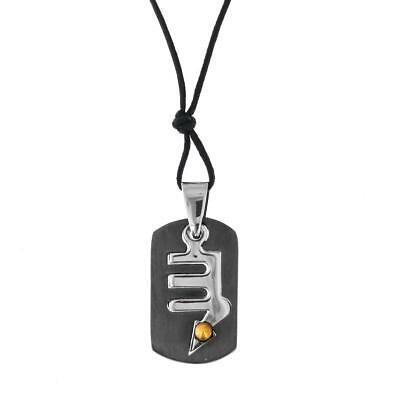 COOL 22K GOLD PLATED OVER 925 STERLING SILVER pendant