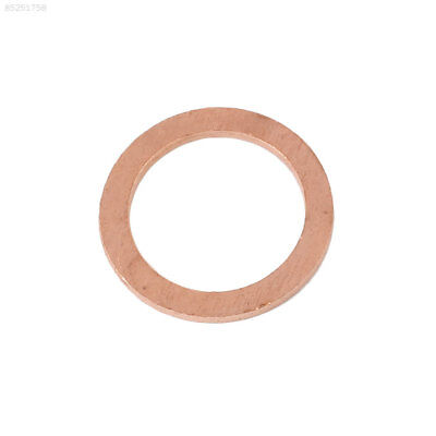 6C78 20PCS/Pack Assorted Copper Washer Gasket Sealing Ring Sump Plug Kit 10X14X1
