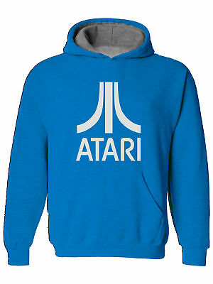 ATARI- Retro Gamer 80s  Mens Hoodie, Hooded top