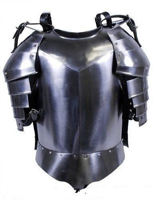 Armour 18G Steel Body Medieval NEW Shoulder with ARMOR JACKET