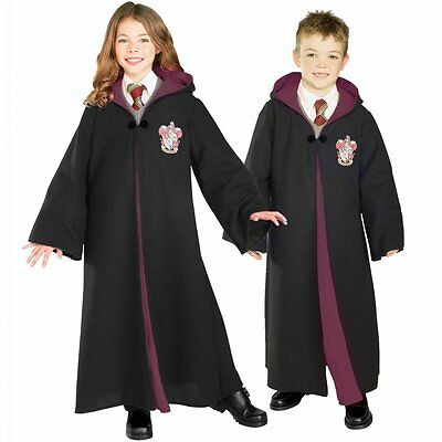 Harry Potter o Hermione Granger DELUXE Gryffindor Robe Halloween Fancy Dress