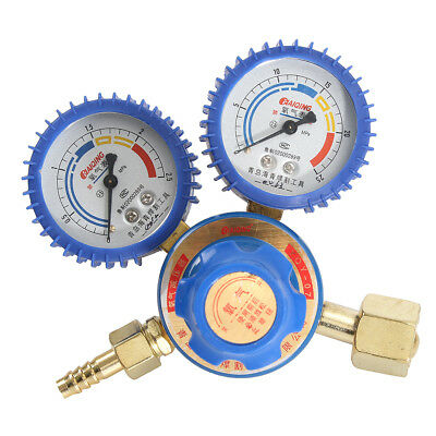 Argon Regulator / Flow meter Stainless Steel Oxygen Pressure Reducer 2 Gauge