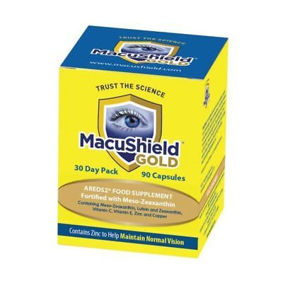 Macushield Gold Capsules 90s x 10 Pack