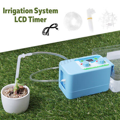 Automatic Home LCD Drip Irrigation System Sprinkler Water Timer Controller  new