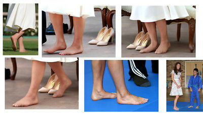 K4 Kate Middleton 6 barefoot 12x8inch approx A4 glossy photos