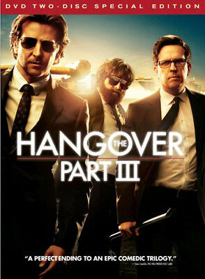 The Hangover Part 3 (2 Disc, Special Edition) DVD NEW