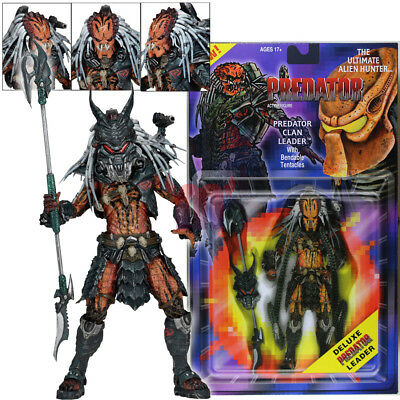 "NECA Predator Clan Leader Alien Hunter 7"" Action Figure Ultimate Deluxe Collect"