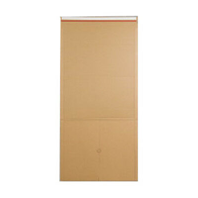 50 Manilla Book Wrap Mailing Envelopes E Flute 415mm x 355mm x 100mm 400gsm