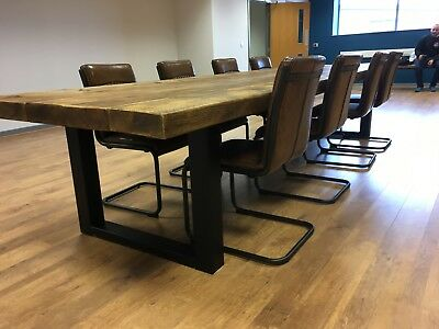 Industrial Style Conference Table (Extra Large)