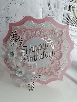 Handmade Die-cut Quality Card Toppers Style 1