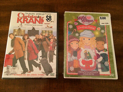 NEW 2 DVDs Christmas with the Kranks & Holly Hobbie Christmas Wishes Leann Rimes