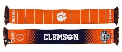 Clemson Tigers 2018 2019 Cotton Bowl Scarf - CFP - College Football Playoff