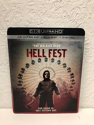 Hell Fest 4K Ultra HD Blu-ray Brand New Sealed Ships out Fast!!