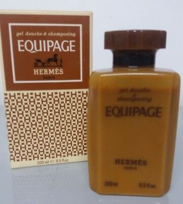 Hermès EQUIPAGE Gel douche & shampooing 200ml - Articulo raro