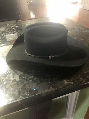 MHT Master Hatters of Texas Fur Blend size 7 1 2 cowboy hat.