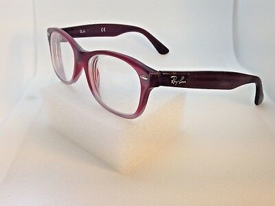 deef124a61 NEW RAY-BAN JR Rb 1528 3661 Tortoise Eyeglasses Authentic Frames Rx ...