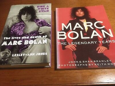 Marc Bolan T.Rex Legendary Years & Ride A White Swan Books