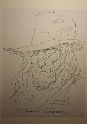Carlos Ezquerra - Saint of Killers sketch ( Preacher )