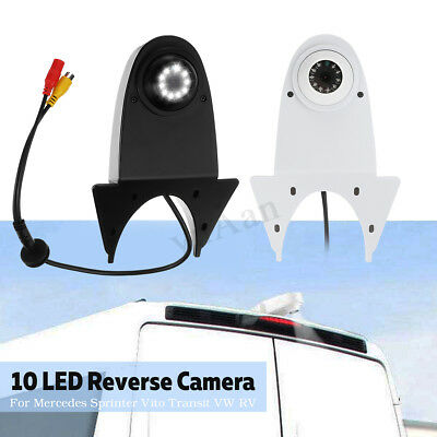 Car Rear View Roof Camera Waterproof For Mercedes Bus Caravan Sprinter VW