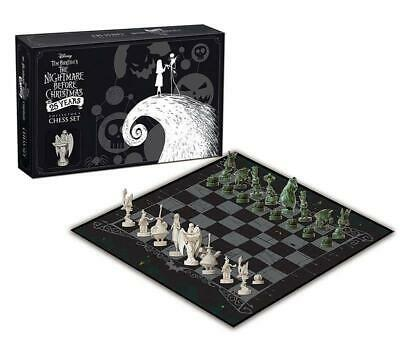 The Nightmare Before Christmas Set Di Scacchi Collector's Edition 25 Anni Disney