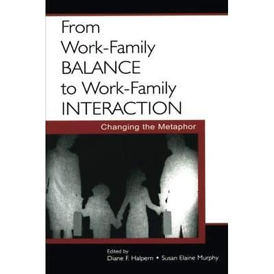 From Work-Family Balance to Work-Family Interaction: Changing the Metaphor Halpe