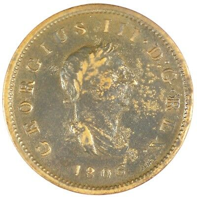1806 Half Penny Great Britain