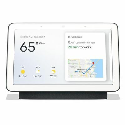 Google Home Hub Ga00515-Us With Google Assistant - Charcoal - Brand New Sealed!