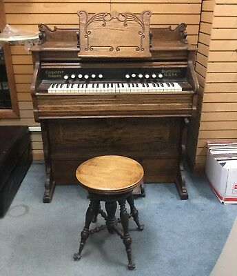 Antique Carpenter Company Pump Organ - Pick Up ONLY