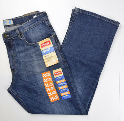 8b7e8fac WRANGLER MENS STRAIGHT Fit Jeans 4-Way Flex New With Tags - $17.49 ...