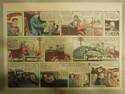 Superman Sunday Page #759 by Wayne Boring from 5/16/1954 Half Page Size Rare
